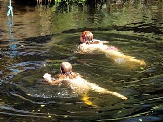 Swiming in the Fowey