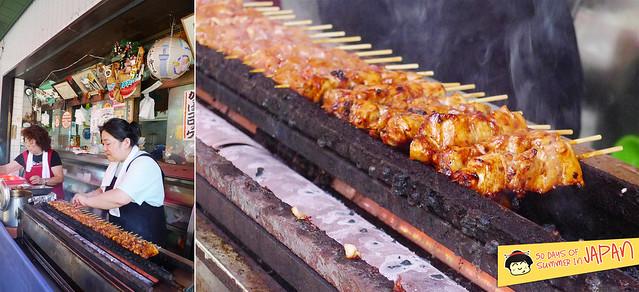 Shitamachi Tanabata Matsuri (2013) - chicken yakitori