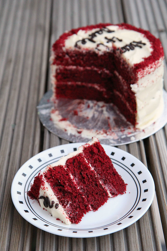 hummingbird bakery red velvet