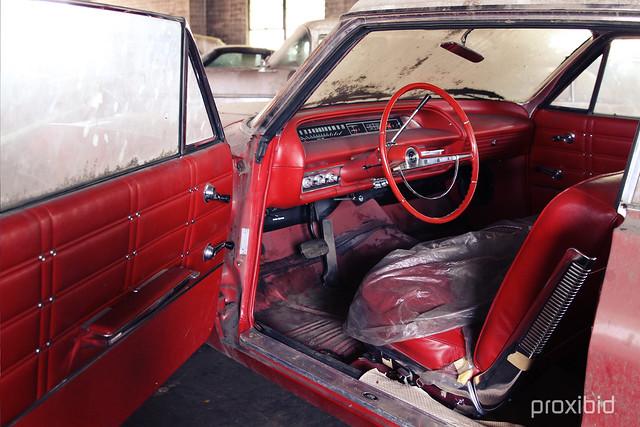 Lambrecht Chevrolet 1963 Impala Interior