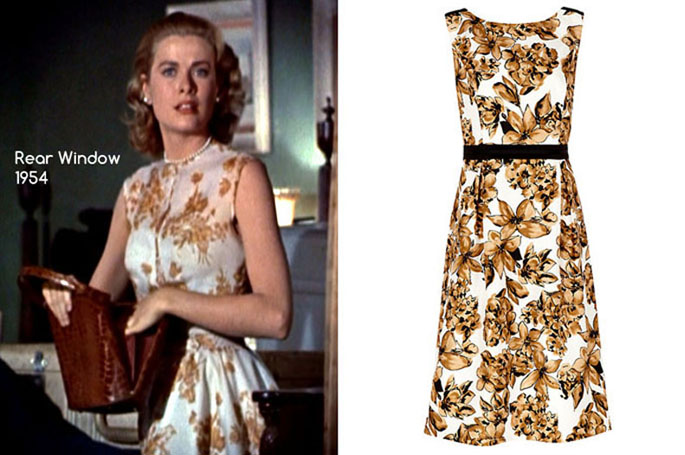 Rear Window - Jacques Vert Statement Floral Dress, Multi