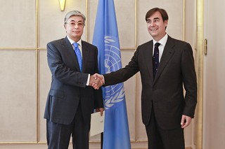 NEW PERMANENT REPRESENTATIVE OF SERBIA PRESENTS CREDENTIALS TO DIRECTOR-GENERAL OF UNOG
