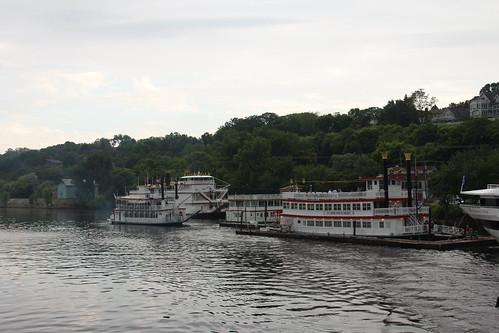 {Minnesota – USA} Stillwater vue de la St Croix River