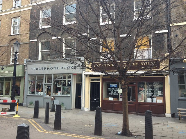 Persephone Books on Lamb's Conduit Street