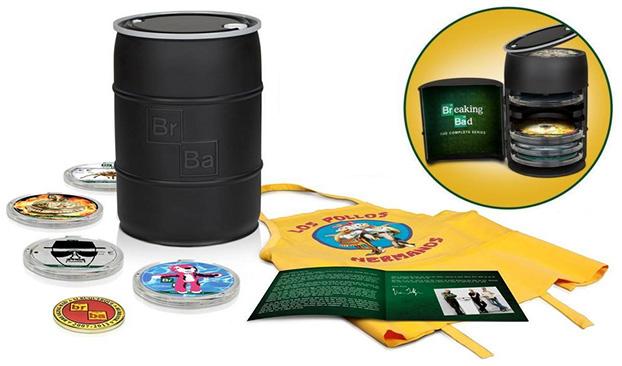 Breaking Bad - Coleção completa em Blu-ray