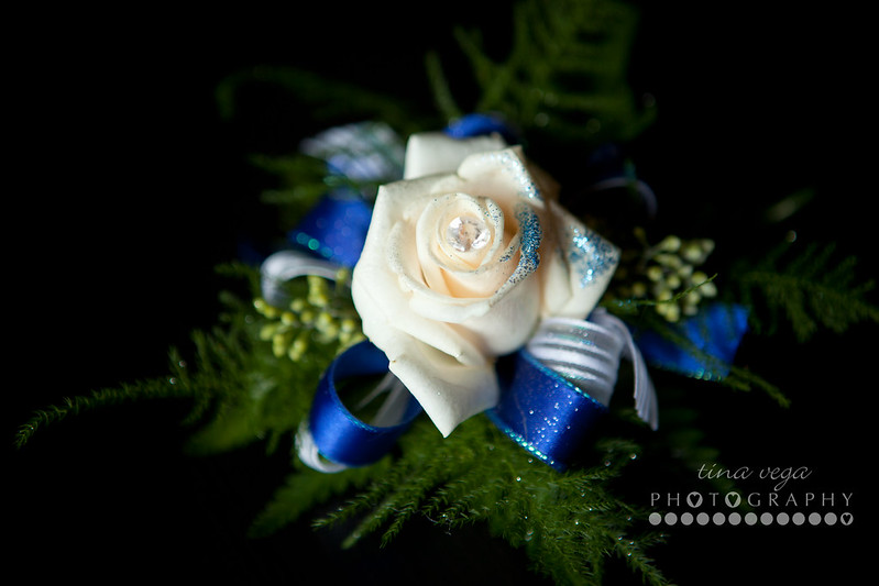 homecoming corsage from The Vinery/Jordan, MN © Tina Vega Photography