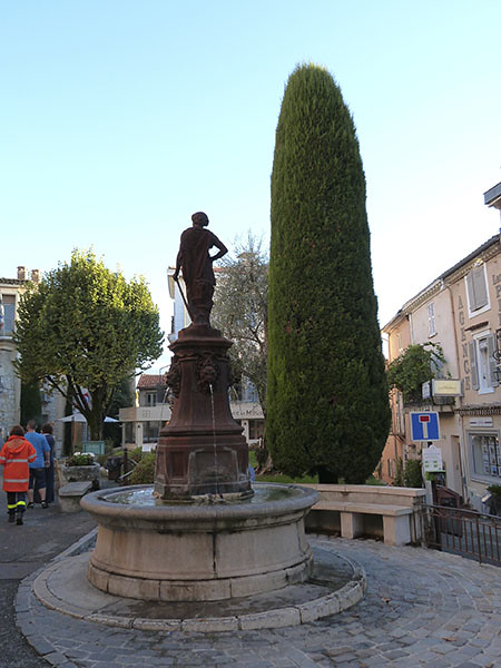 la fontaine de Mougins