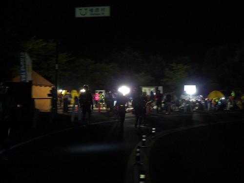 第二関門 月夜見代に駐車場到着