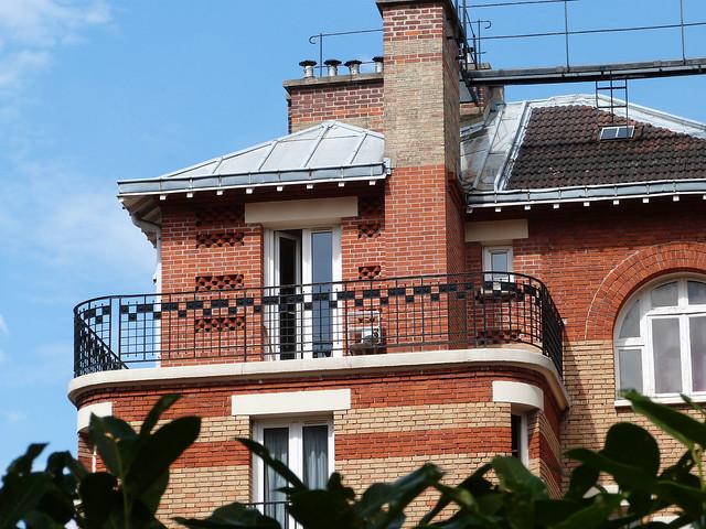 terrasse et briques