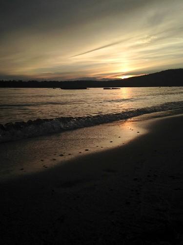 sunset summer lake ny newyork july adirondacks speculator lakepleasant adirondackmountains campofthewoods