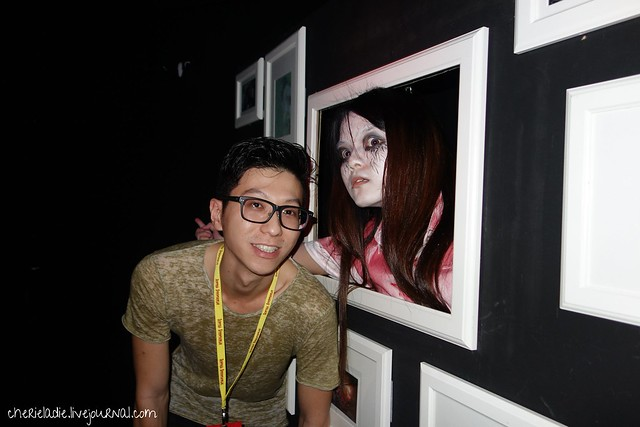 derrick with ghost in shutter