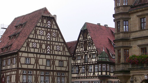 Town square, Rothenburg, Germany