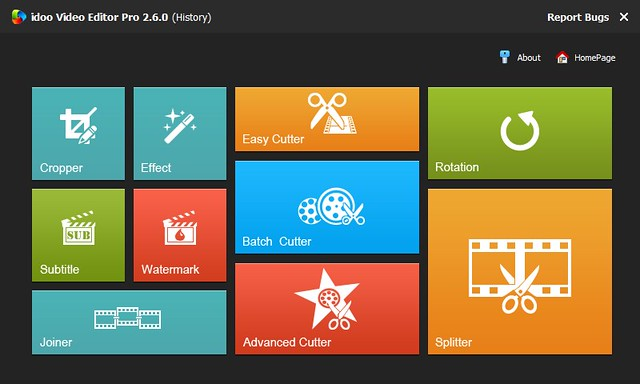 idoo Video Editor Pro 2.6.0 注册码