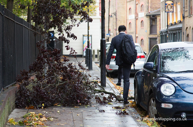 St Jude's Storm in Wapping