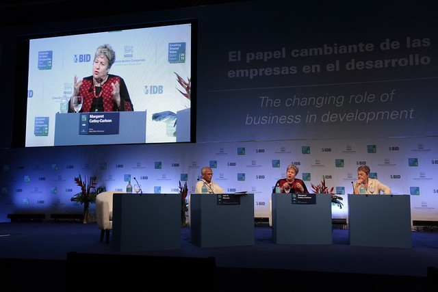 Margaret Catley-Carlson, Patron, Global Water Partnership