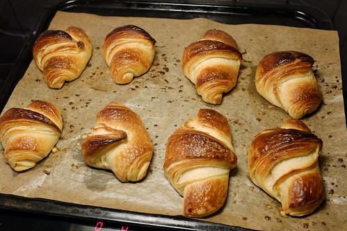 croissant på färdig smördeg recept