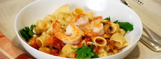 Casa di Trevi, Roselle Park, Pasta with shrimp