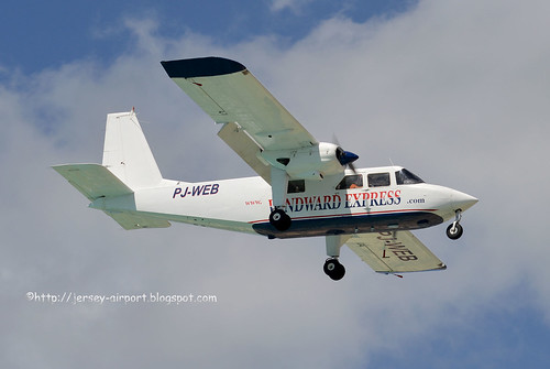PJ-WEB Britten-Norman BN-2 Islande by Jersey Airport Photography