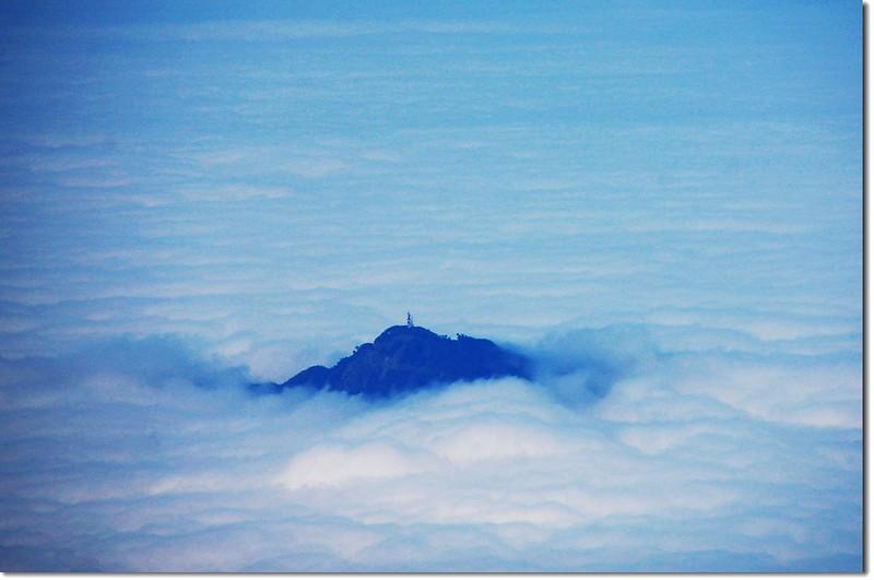 蓬萊仙島--集集大山(From西巒大山)