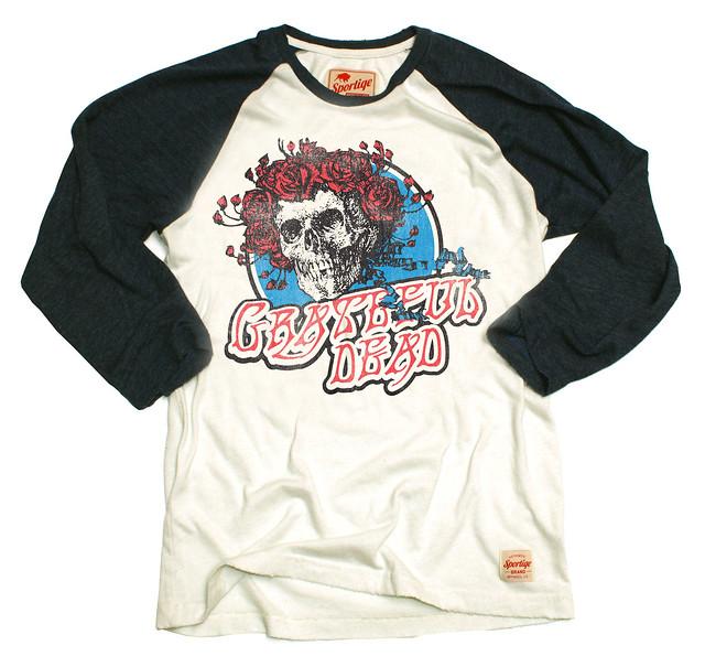 Grateful Dead Skull N Roses Raglan T-Shirt
