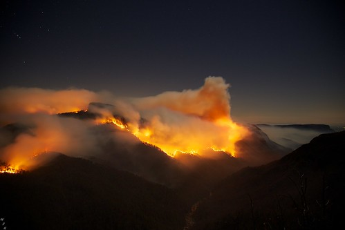 Table Rock Fire Linville Gorge 11-13-2013 20