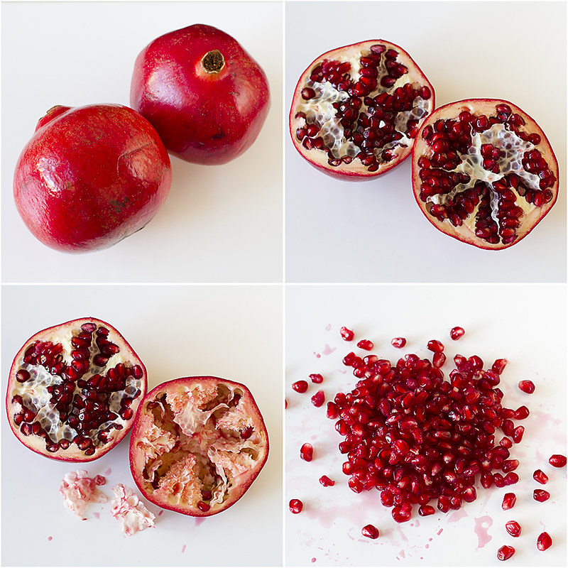 Deseeding Pomegranates