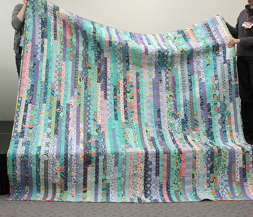 Back of Kristin L's quilt