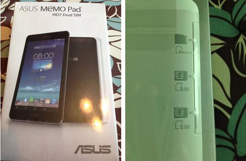Asus MeMO PAD HD7 3G