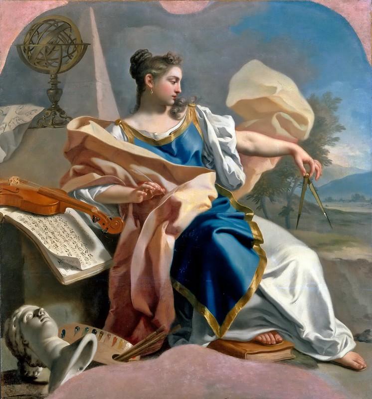 Francesco de Mura - Allegory of the Arts (c.1747-50)