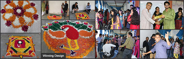 Traditional Diwali celebrations at the VE office