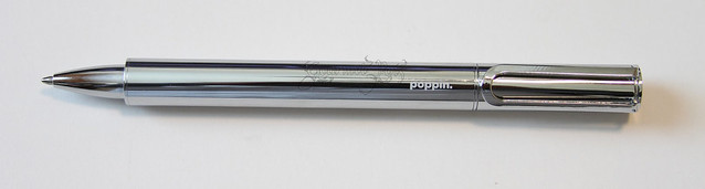 @poppin The Main Attraction Silver Pen With Magnetic Cap Posted