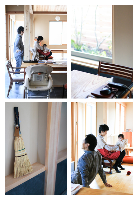 赤ちゃん写真 出張撮影 愛知県瀬戸市 女の子 記念写真 住宅写真