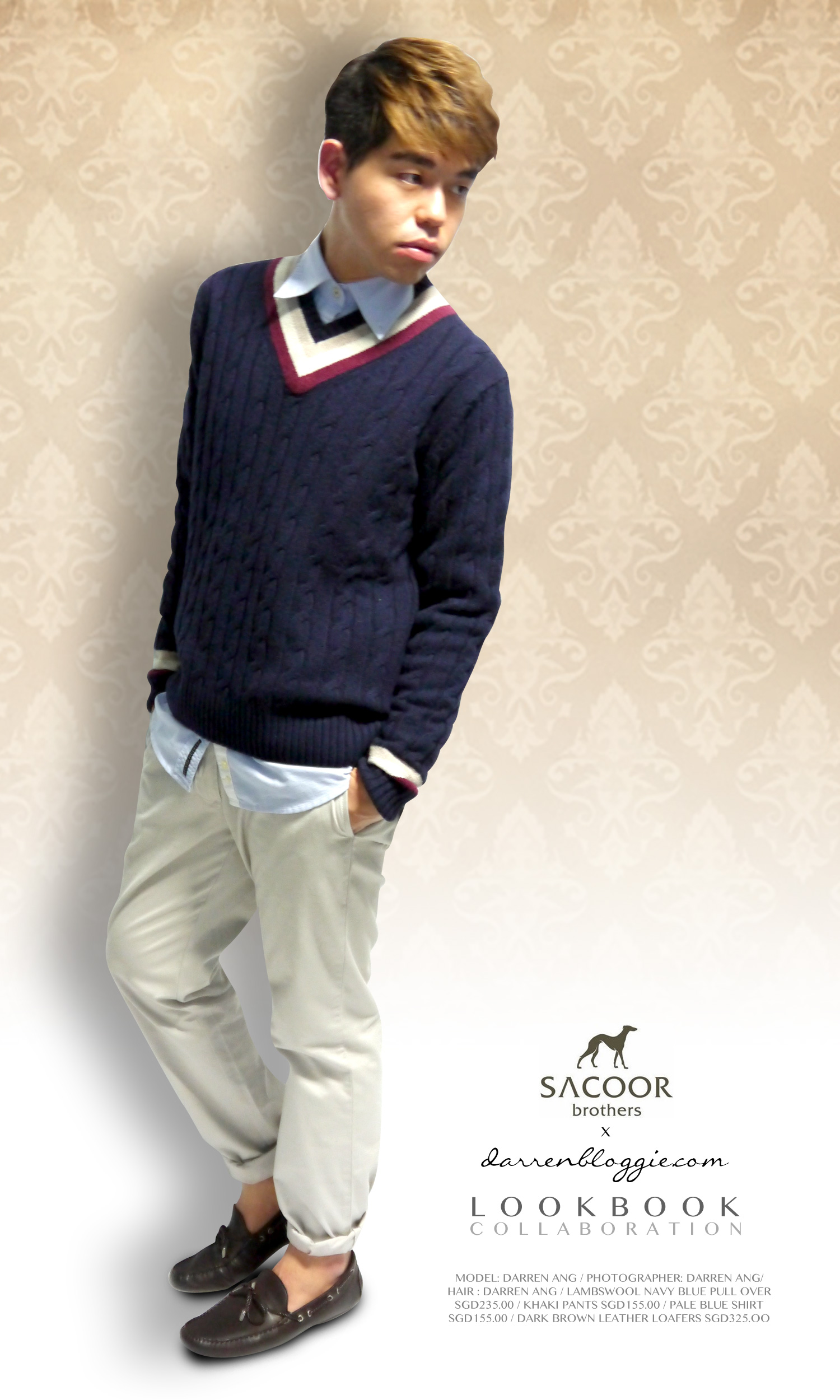 Sacoor Brothers x DarrenBloggie Lookbook Collaboration
