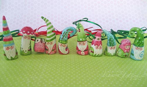 NŌM ornaments 1191-1198