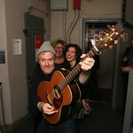 Holiday Cheer for FUV 2013: Glen Hansard Photobomb