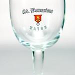 ベルギービール大好き!!【セント・ベルナルデュスの専用グラス】(管理人所有 )