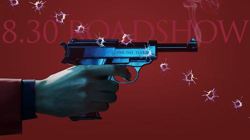 131218(1) - 真人電影《魯邦三世》將在2014/8/30上映、「小栗旬」與劇組搞笑殺青照片&首張海報出爐! 1