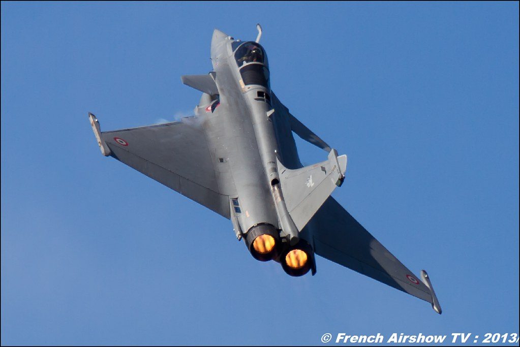 Rafale Solo Display 2013 ,60 ans Patrouille de France , Meeting Aerien 2013