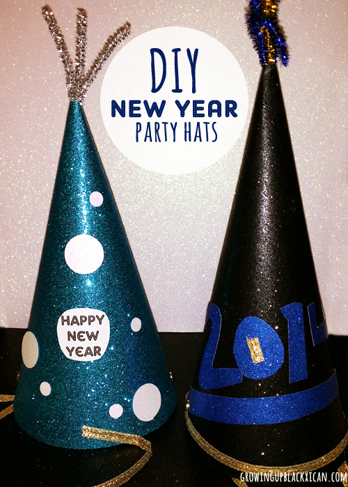 diy new year party hats