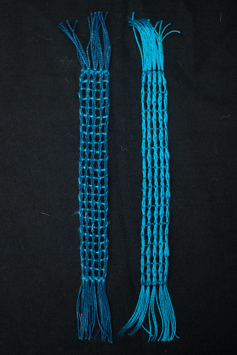 Weaving projects 42 and 43
