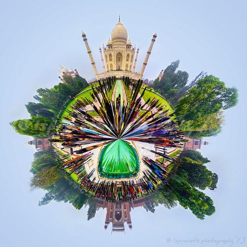 Taj - The Marble beauty of India!