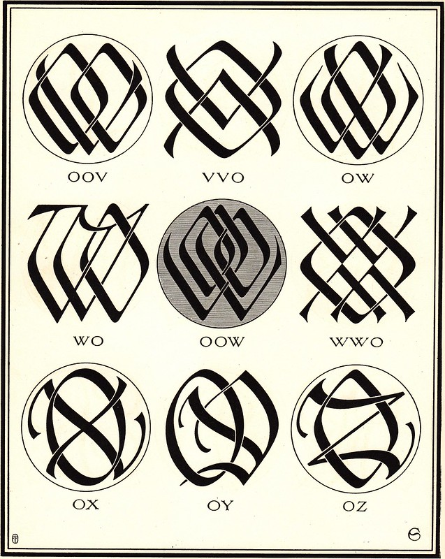 Monograms & Ciphers by AA Turbayne 1912 j