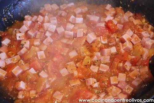 Judías verdes a la italiana www.cocinandoentreolivos (14)