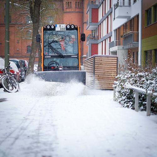 Endlich Schnee in Berlin :-)