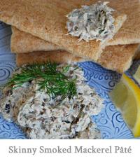 Skinny Smoked Mackerel Pâté