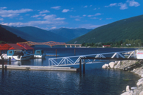 Nelson, Kootenay Lake, Kootenay Rockies, British Columbia, Canada