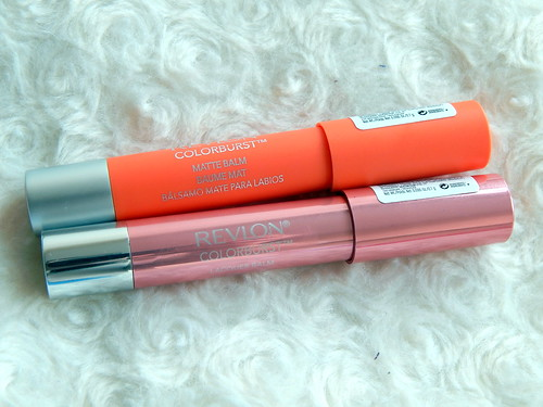 Revlon Colourburst Balms in 105 Demure and 235 Mischievous