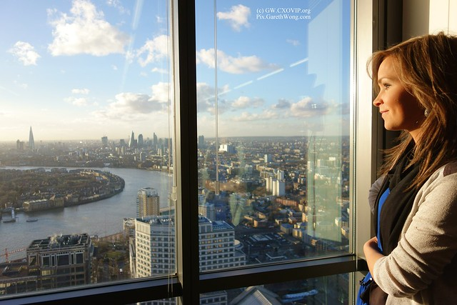 Gorgeous view from @Level39CW enjoyed by me & Mariann from RAW _DSC4150