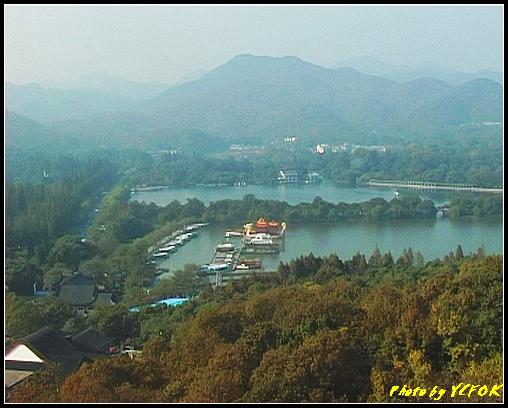 杭州 西湖 (其他景點) - 333 (從西湖十景之 雷峰塔上看 西湖十景之 蘇堤及西湖十景之 花江觀魚)