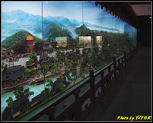 杭州 吳山天風景區 - 067 (城隍閣 內的南宋時期的杭州風情軟木立體畫))